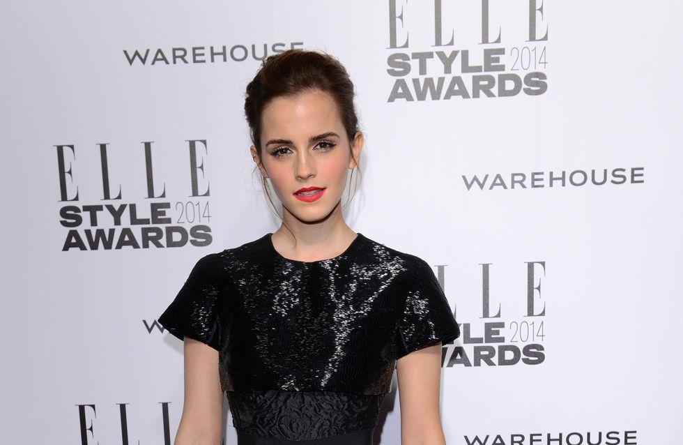 Emma Watson : Sensationnelle sur le red carpet des Elle Style Awards (Photo)