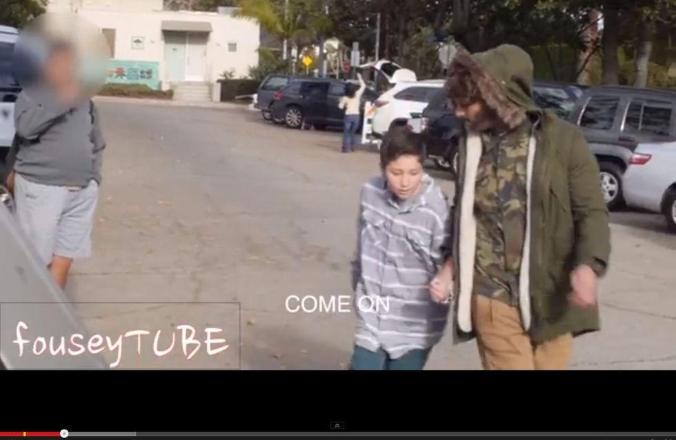 Ein Video, das unter die Haut geht: Was passiert, wenn ein entführtes Kind um Hilfe bittet…