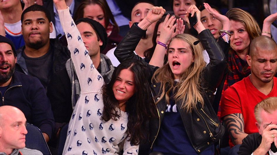 Yes, they're dating! Michelle Rodriguez opens up about relationship with model Cara Delevingne