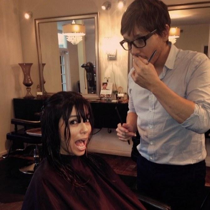 Eva Longoria nouvelle coiffure