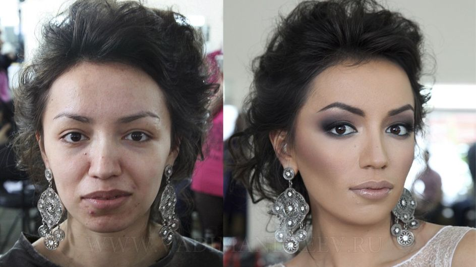 Il make-up fa miracoli. Non ci credi? Guarda queste foto!
