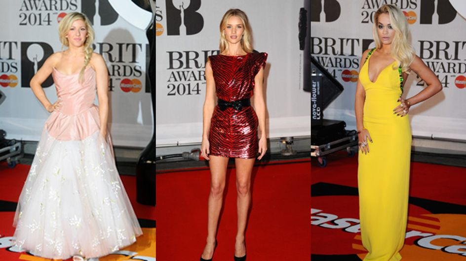 The Brit Awards 2014: Fashion, Frocks and Females We're Obsessed With