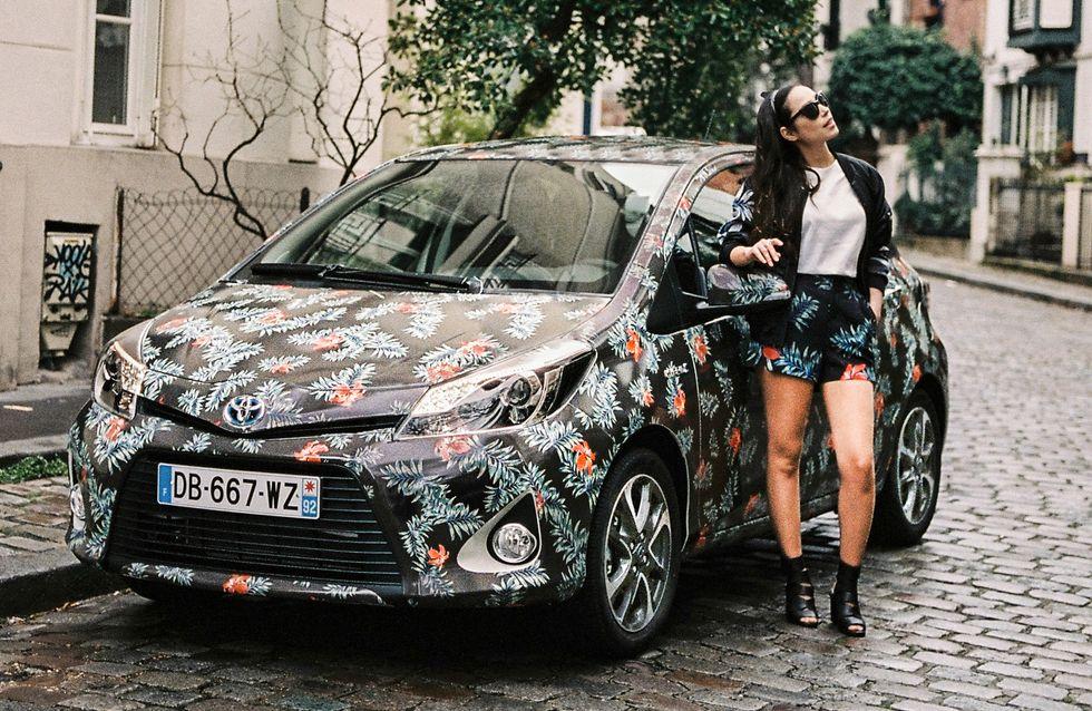 Toyota présente sa Yaris Hybride Graphic, version fashion