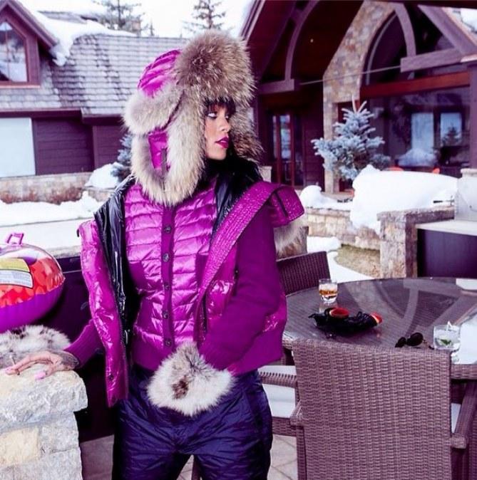 Rihanna à Aspen
