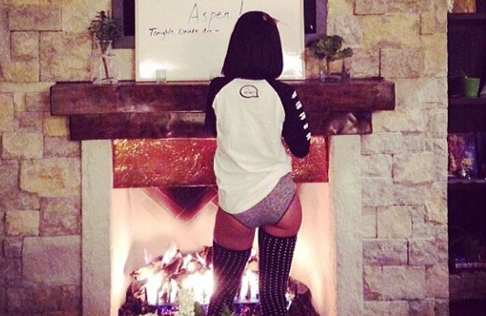Rihanna celebrates 26 via Instagram with birthday cake, balloons, and one hot belfie