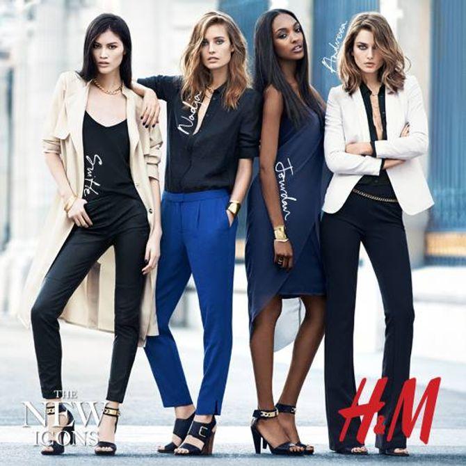 H&M : Les nouveaux visages de la campagne printemps 2014