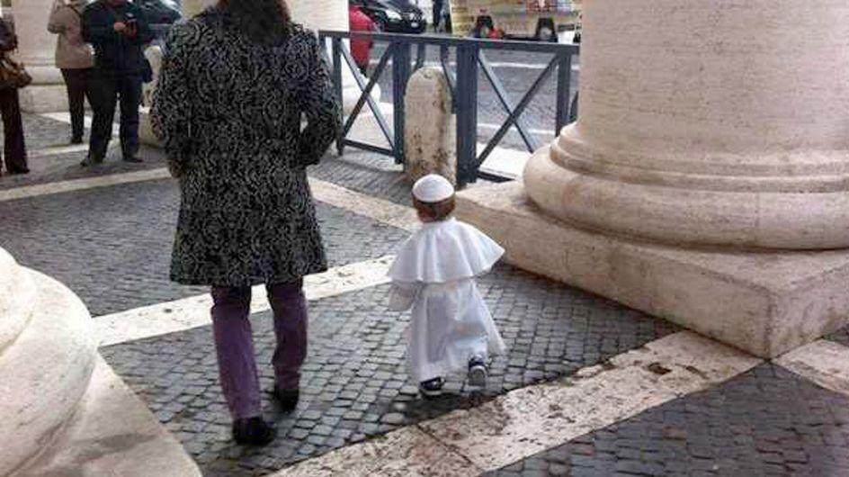 Carnevale: Mamma, quest'anno mi vesto da Papa!