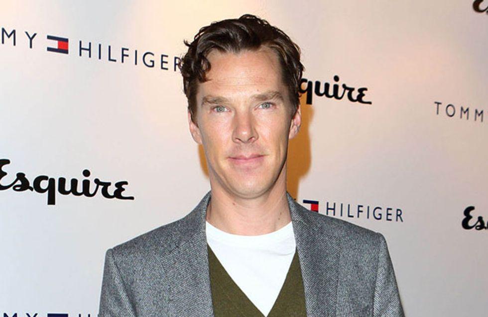 WATCH: Benedict Cumberbatch pretends to be a dragon