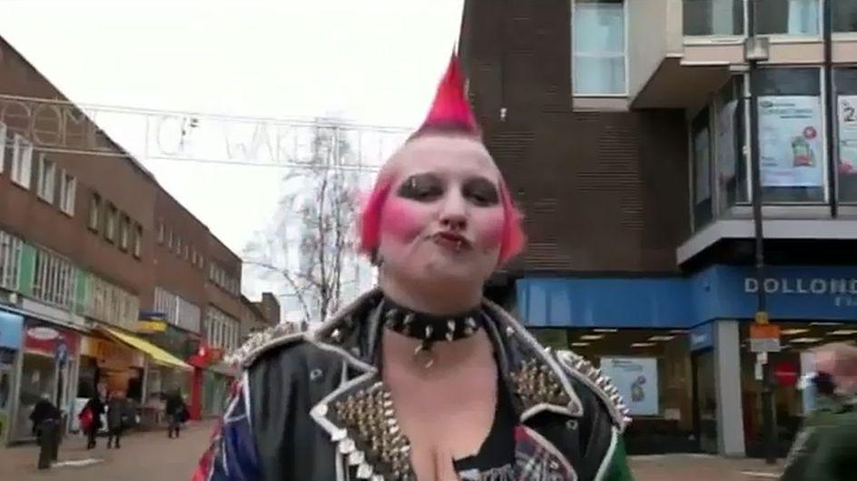 Kann diese Frau in 2 Minuten vom Grusel-Punk zur Lady werden?