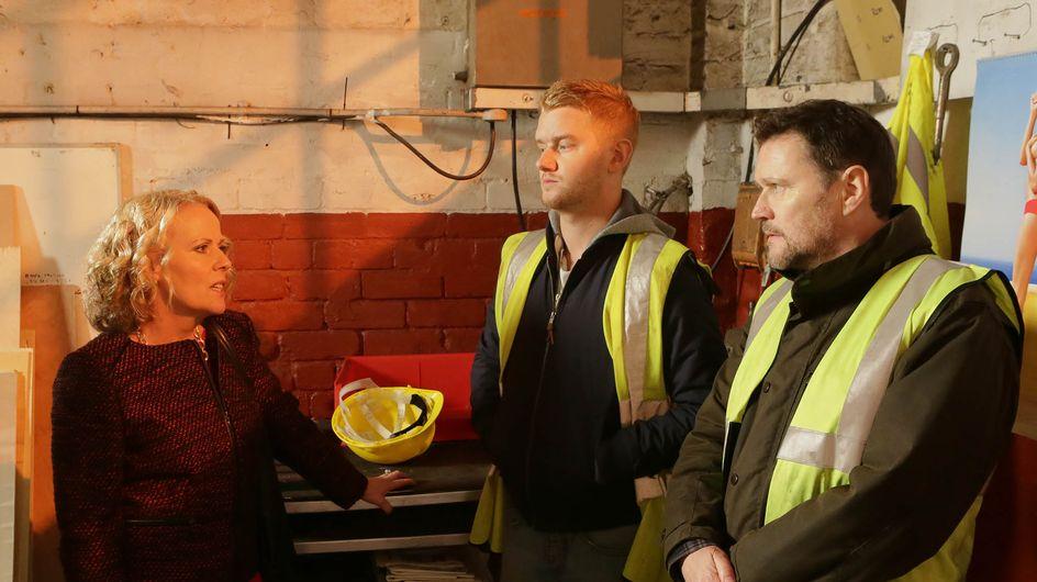 Coronation Street 3/03 – Gary is scared that Phelan is dead