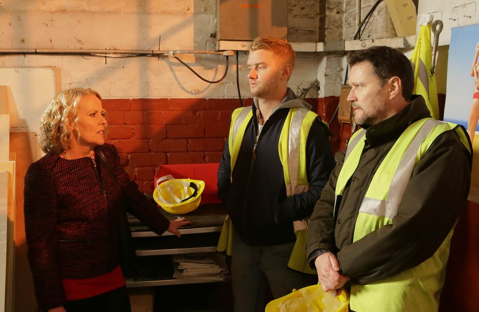 Coronation Street 3/03 – Gary is scared that Phelan is dead
