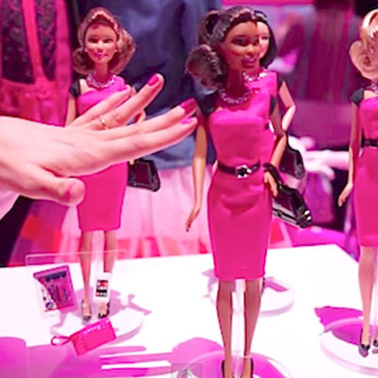 Barbie Goes From Bimbo To Business Woman - Hello