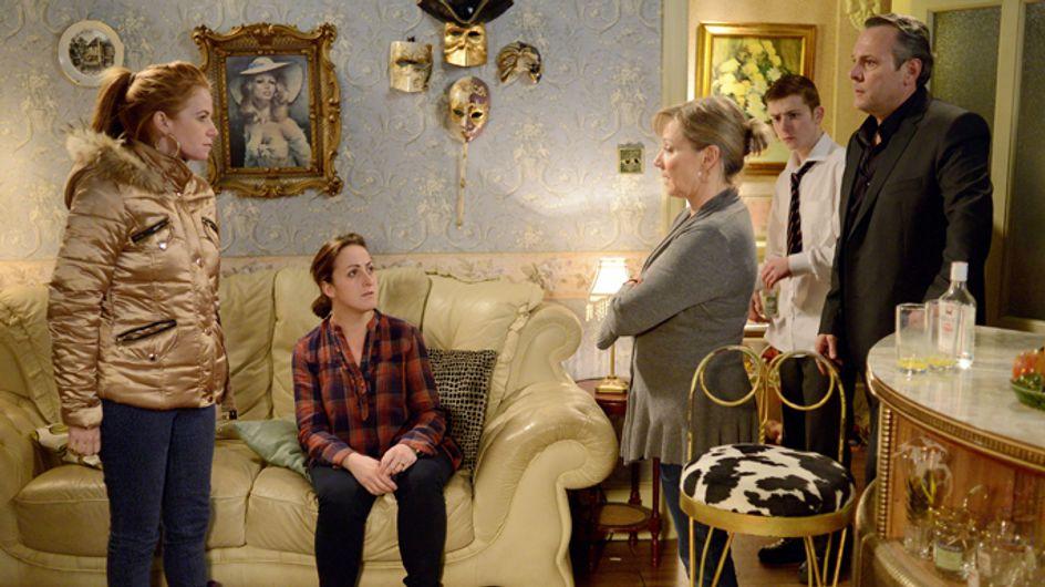 Eastenders 7/03 – Carol's life changing news sinks in