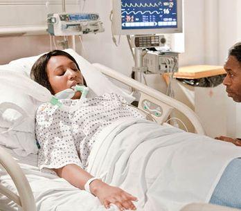 Emmerdale 4/03 – Gemma is in hospital