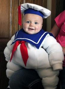 Costume di Carnevale per bambini: il pupazzo di neve Marshmallow