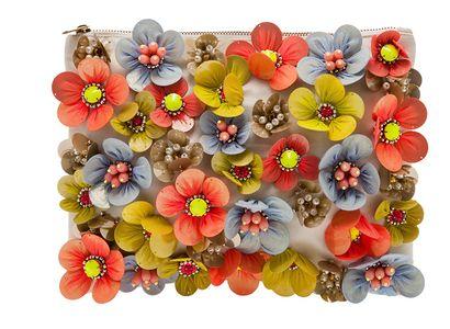 Pochette fleurie Asos