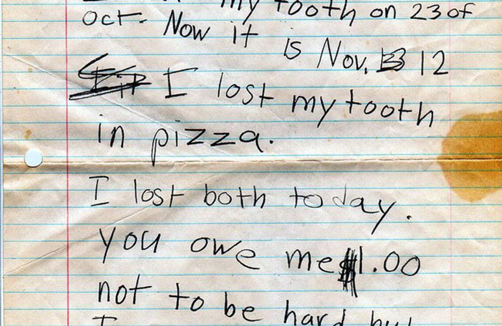 """""""Sorry, Mama, dass ich dich ein Stück Kaka genannt habe"""" - Die besten Briefe von Kindern"""