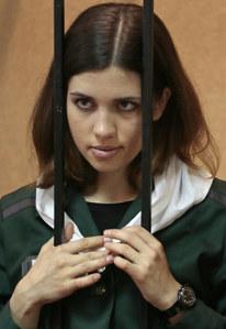 Nadezhda Tolokonnikova, miembro de Pussy Riot