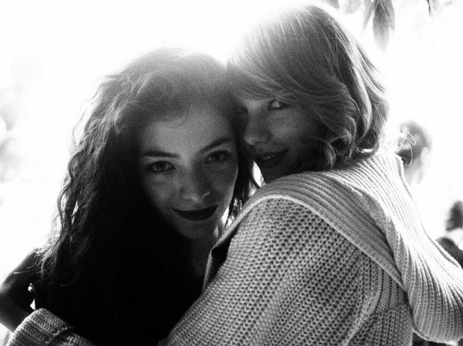 Lorde et Taylor Swift