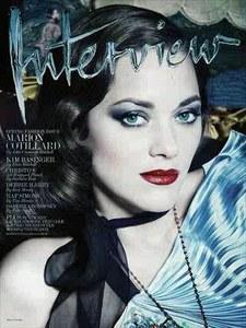 Marion Cotillard pour Interview Magazine