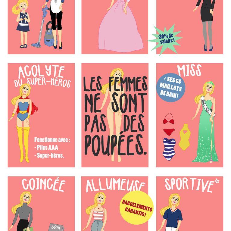 Génial Affiche Pour La Journée De La Femme egalité : les meilleures affiches du concours de la journée de la femme