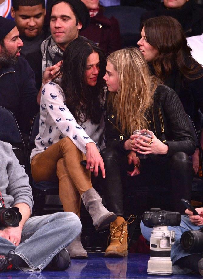 Michelle Rodriguez und Cara Delevingne