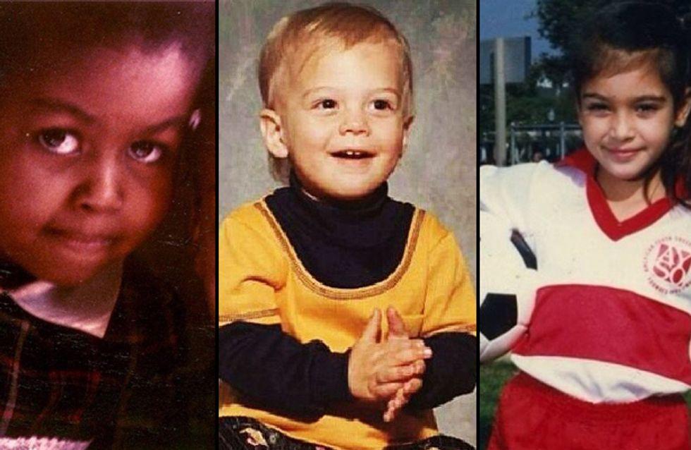 Throwback Thursday : Quand les stars se replongent dans leur enfance (photos)