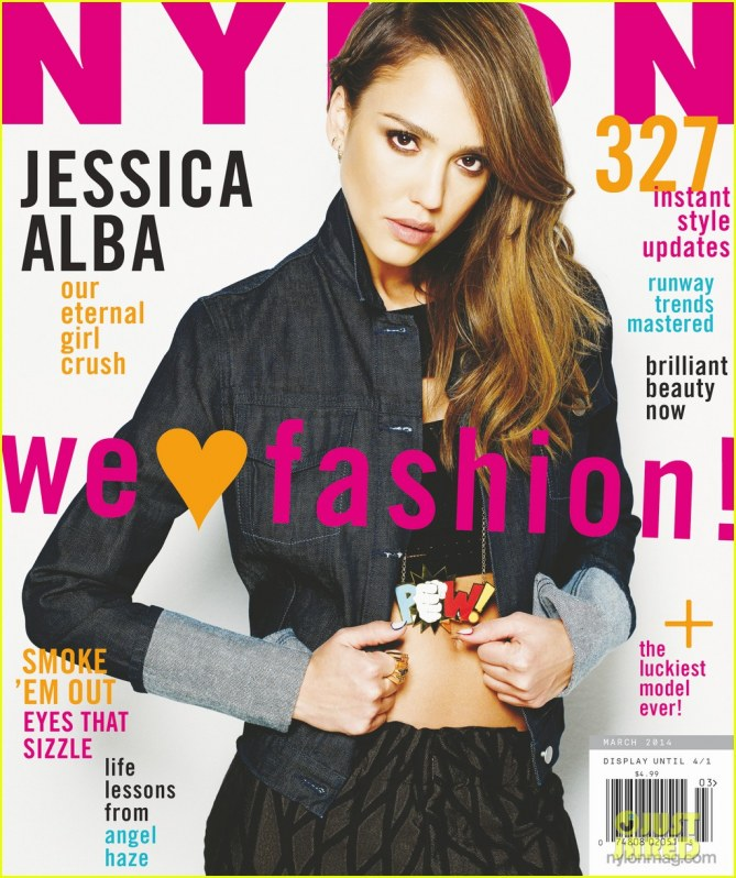 Jessica Alba pour Nylon