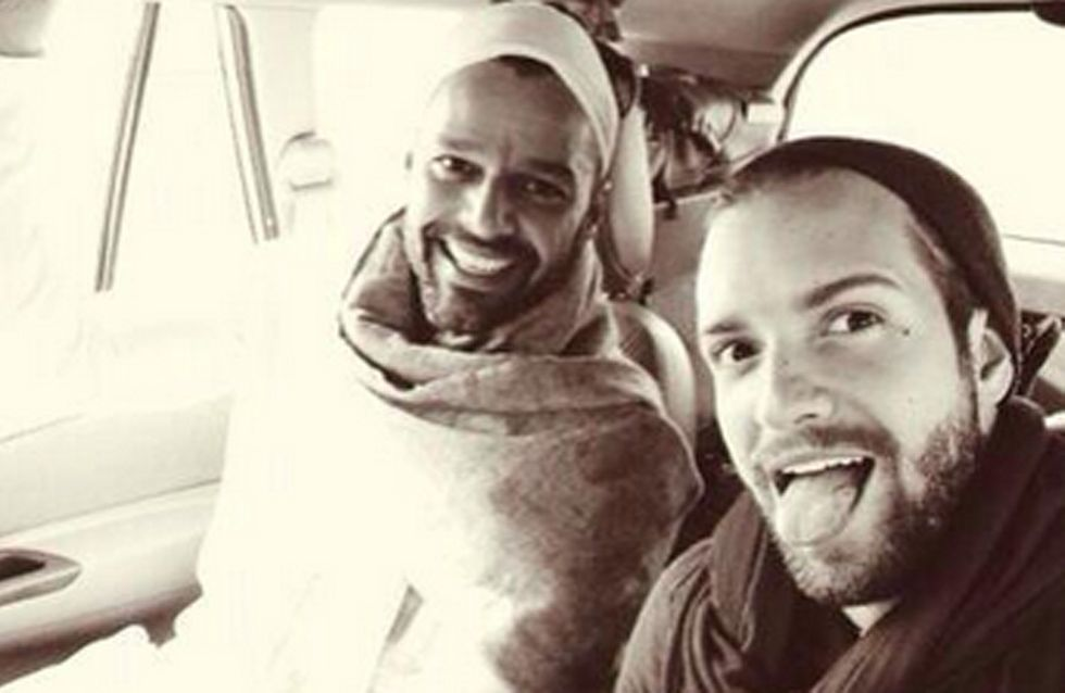 Pablo Alborán y Ricky Martin, ¿más que amigos?