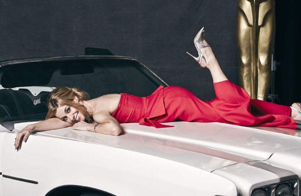 Y el Oscar a la presentadora revelación es para... ¡Alexandra Jiménez!