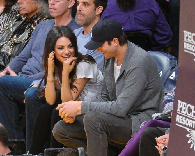 Ashton Kutcher et Mila Kunis fiancés