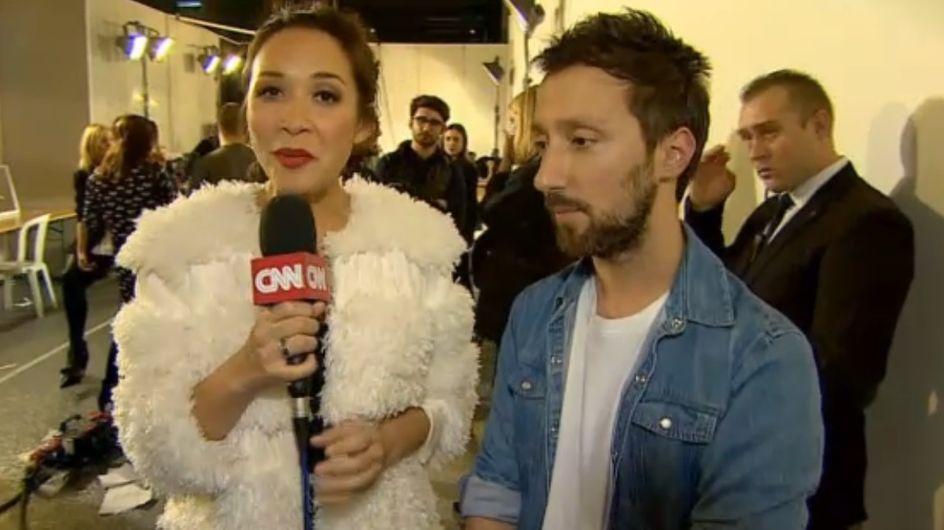 """Fashion Season Paris - jour 3, """"Le Premier Jour de l'Evénement"""", sur CNN International"""