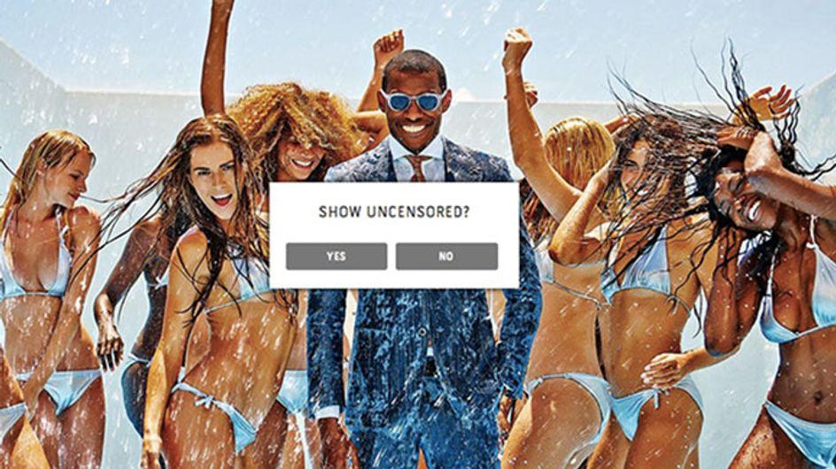 La firma de moda masculina Suit Supply desata de nuevo la polémica con una campaña publicitaria sexista