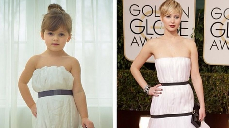 How This 4 Year Old Has A Red Carpet Wardrobe - Made From Paper
