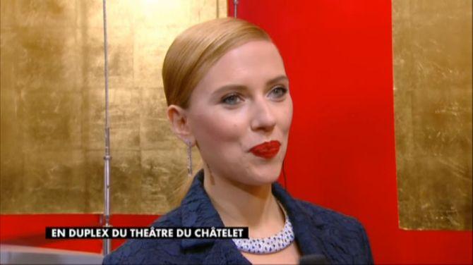 Scarlett Johansson aux César 2014
