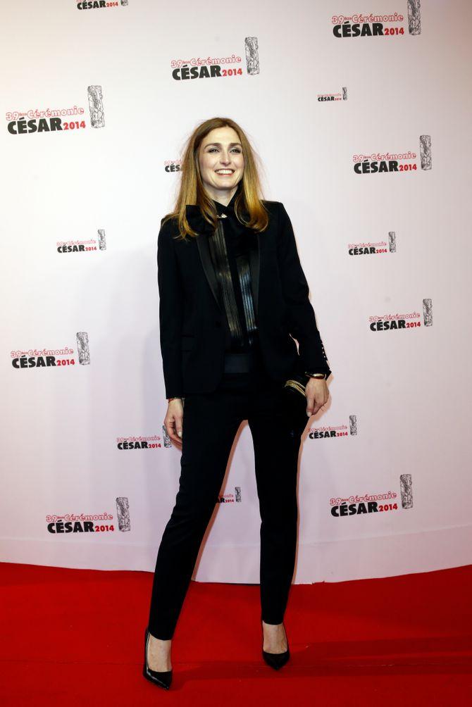 Julie Gayet aux César 2014