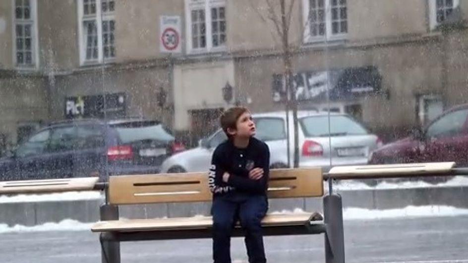 ¿Qué harías si ves a un niño en la calle tiritando de frío?