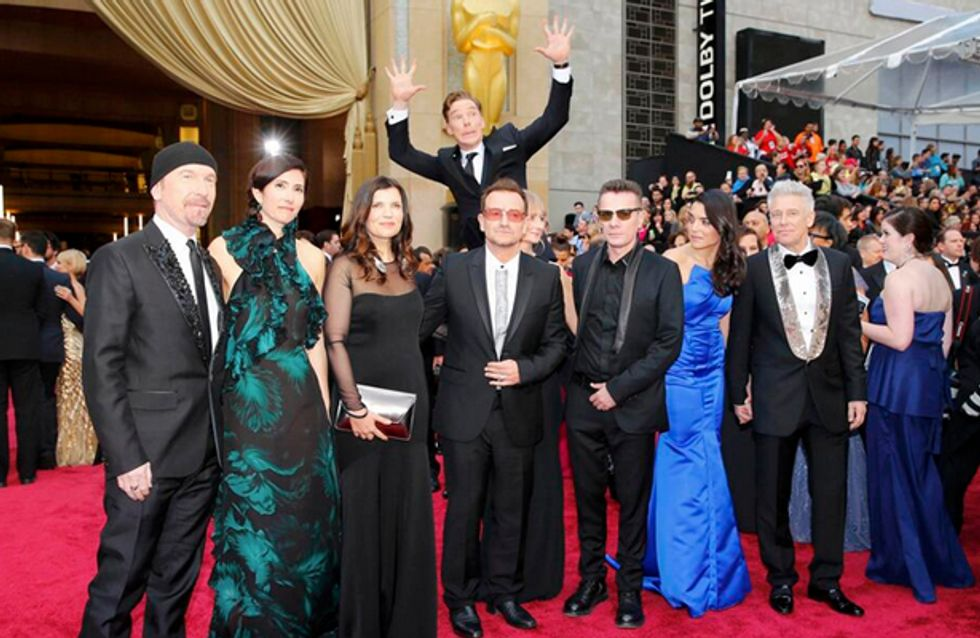 Benedict Cumberbatch Goes Above And Beyond In Oscars Photobomb