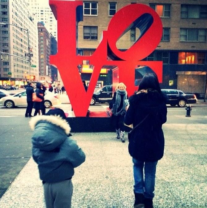 Alizée et Annily dans les rues de New York