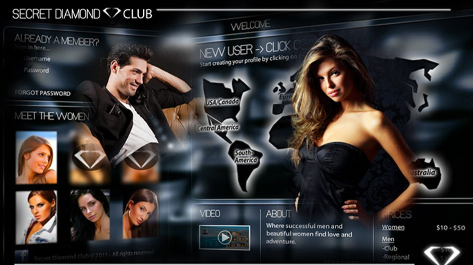 Is The Secret Diamond Club The World's Most Sexist Dating Site?