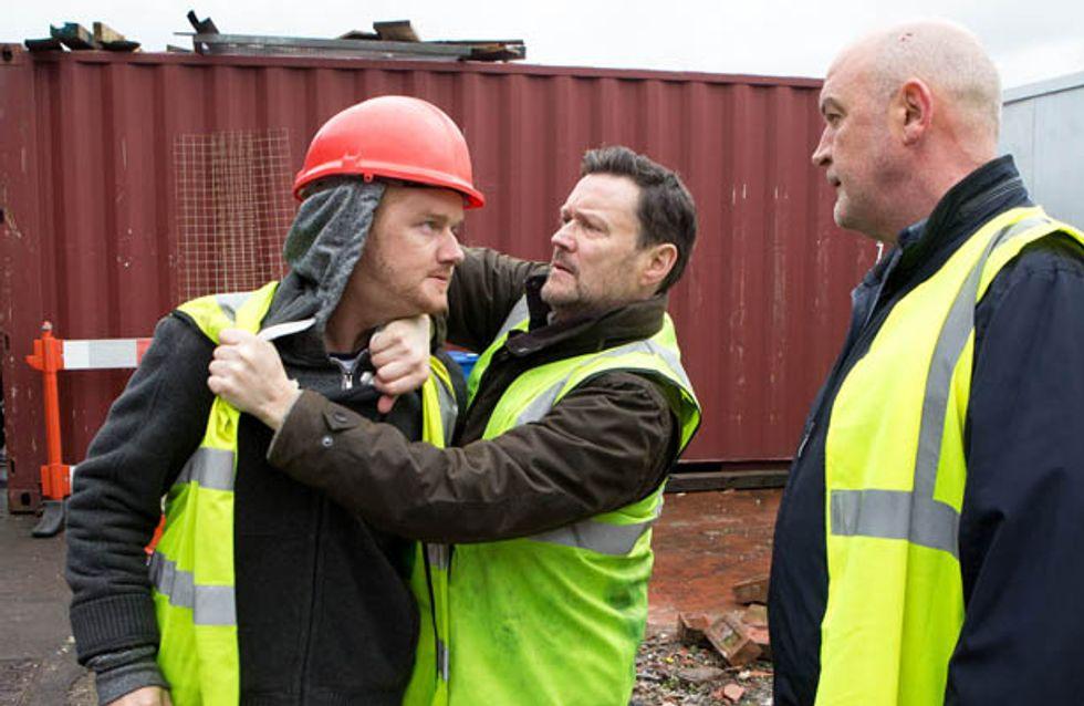 Coronation Street 10/03 – Phelan pushes Gary too far