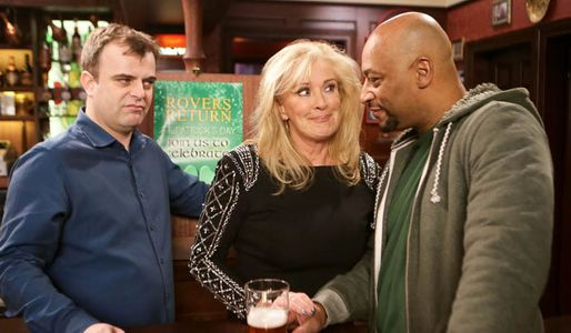 Steve warns Tony not to mess Eileen around