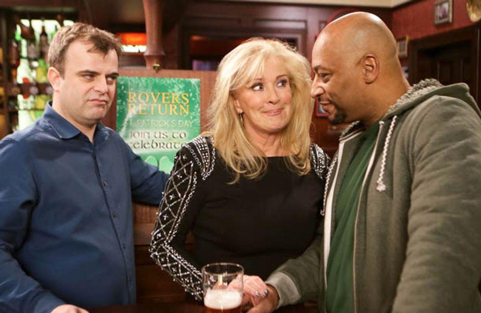 Coronation Street 12/03 – Steve warns Tony not to mess Eileen around