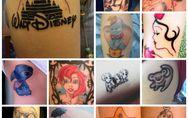 Ti faresti tatuare uno dei personaggi Disney come Biancaneve, Peter Pan o Ariel?