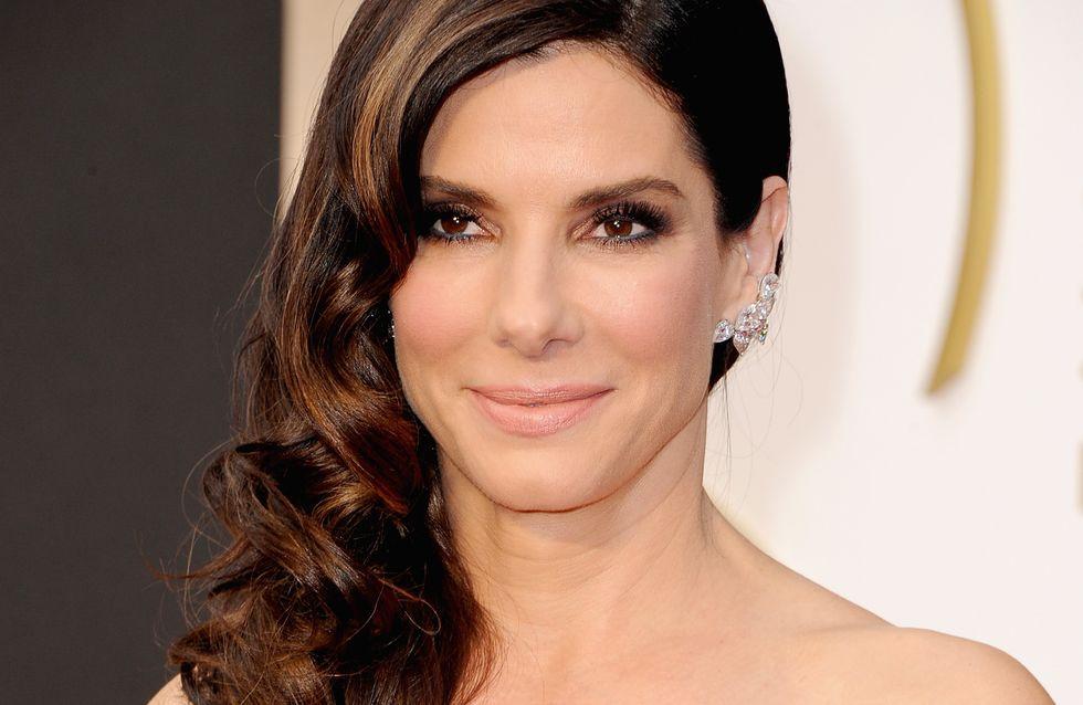 Oscars 2014 : Comment réaliser le side-hair ondulé de Sandra Bullock ? (Tuto)