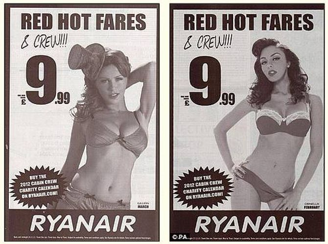 L'hôtesse de l'air Ryanair ne connait pas l'uniforme