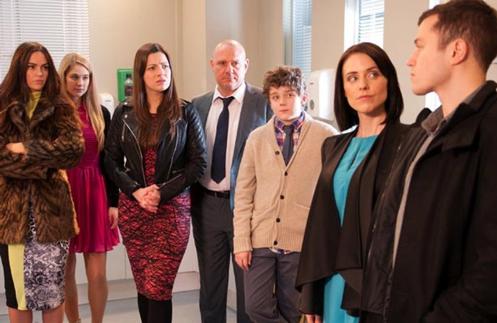 Hollyoaks 14/03 – Sienna blackmails Maxine