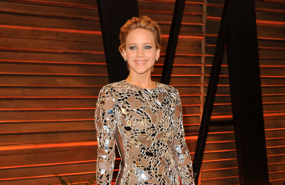 Jennifer Lawrence : Renversante pour l'after party Vanity Fair des Oscars (Photo)