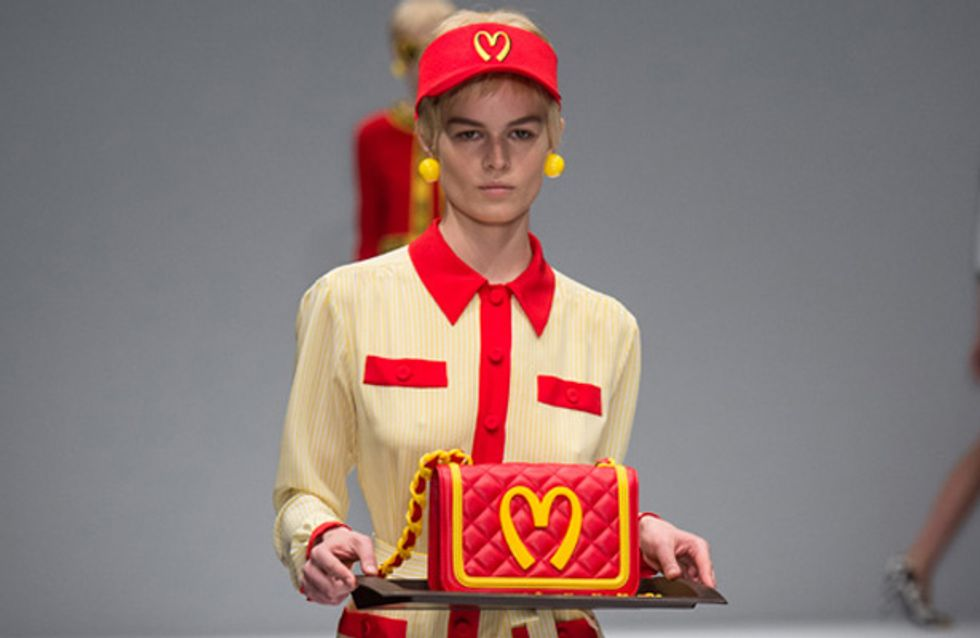Moschino In Fashion Food Fight! Designer Accused Of Mocking Minimum Wage Earners