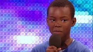 Malaki Paul sur le plateau de Britain's Got Talent